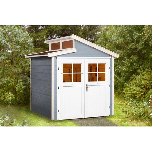 Weka tuinhuis 226 GR1 grijs 205x209cm