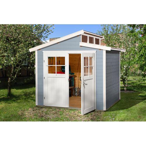 Weka tuinhuis 226 GR2 grijs 235x239cm