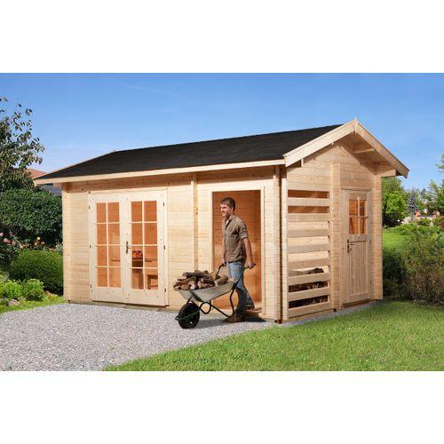 Weka tuinhuis 150 3 ruimtes 300x450cm