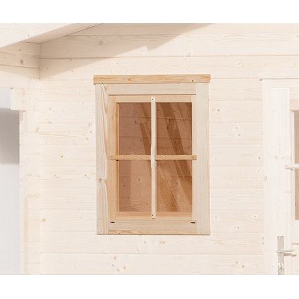 Weka extra raam tuinhuis 21/28mm 69x79cm