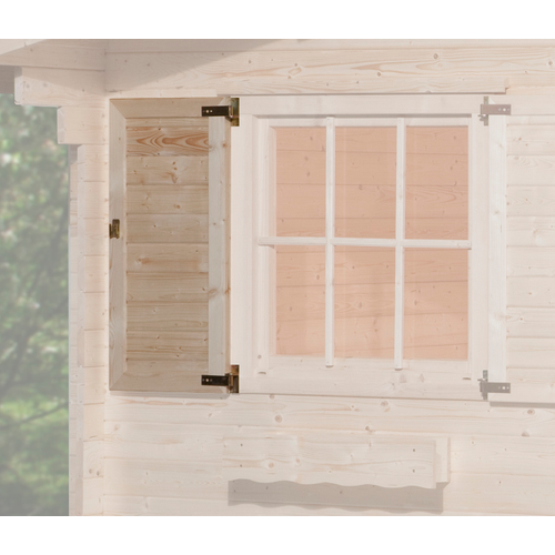 Weka vensterluik 1-zijdig 91x91cm