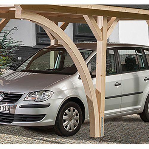 Weka houten boog voor carport