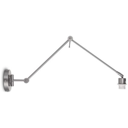 Home Sweet Home wandlamp 'Shift' staal 60W