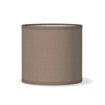 Abat-jour Home Sweet Home 'Bling 15' taupe Ø 16 cm