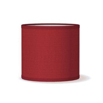 Abat-jour Home Sweet Home 'Bling 15' rouge Ø 16 cm