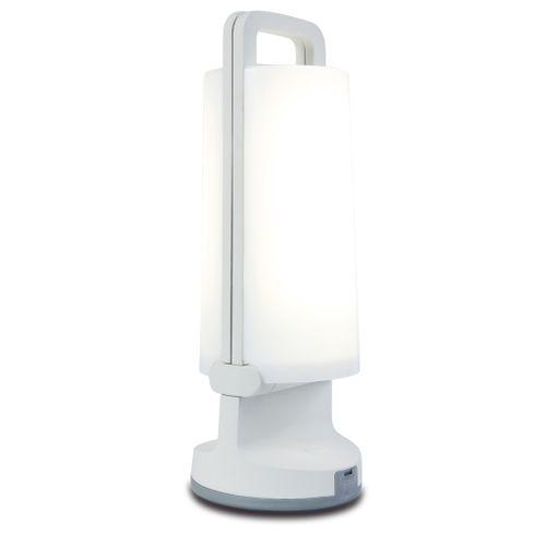 Lutec solar tafellamp 'Dragonfly' wit 1,2W
