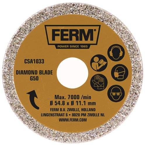 Ferm diamantschijf CSA1033 54,8mm