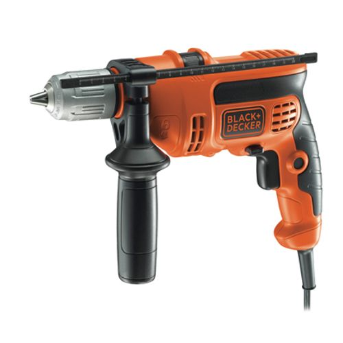 Perceuse à percussion Black + Decker 'KR714S32-QS' 710W
