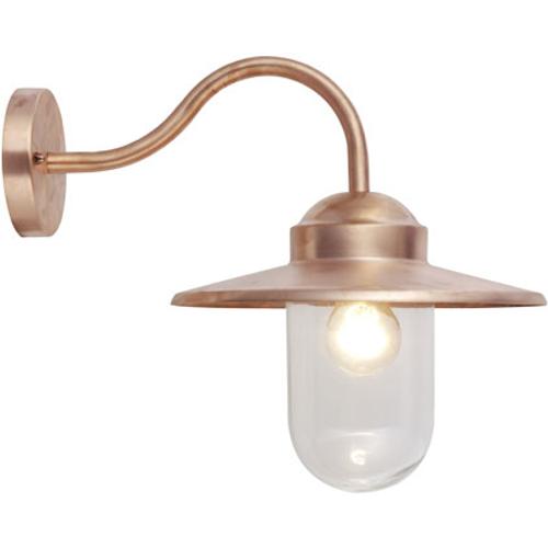 KS Verlichting wandlamp Dolce retro koper
