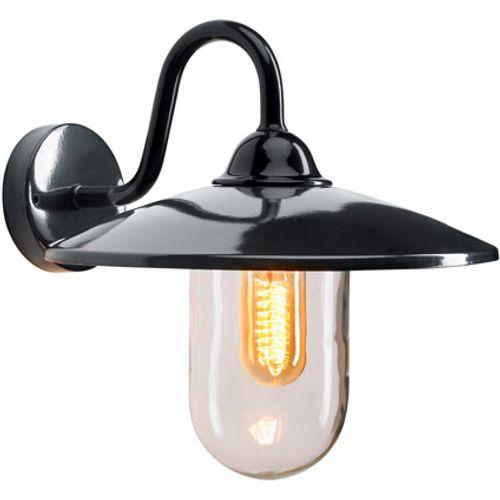 KS Verlichting wandlamp Brig zwart