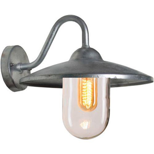KS Verlichting wandlamp Brig zilver