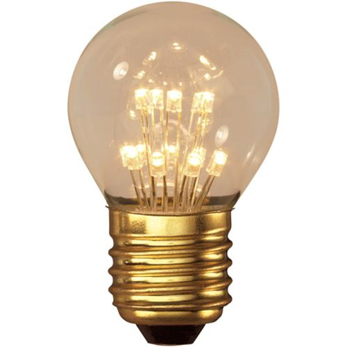 Calex Pearl LED Kogellamp 240V 1,0W E27 P45, 14-leds 2100K