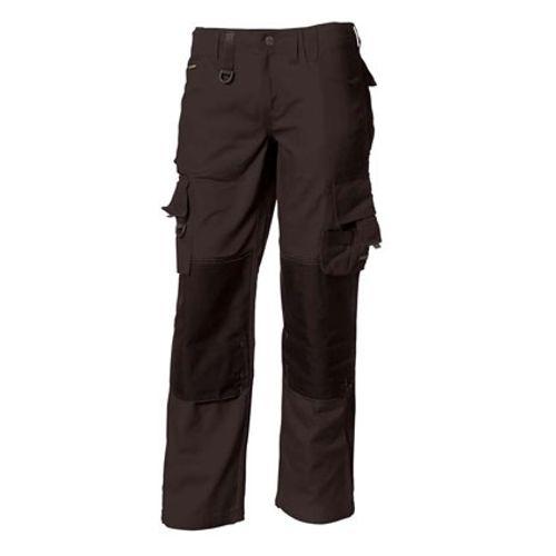 Tricorp Workwear Worker/broek TWC2000 dark grey / Zwart 50