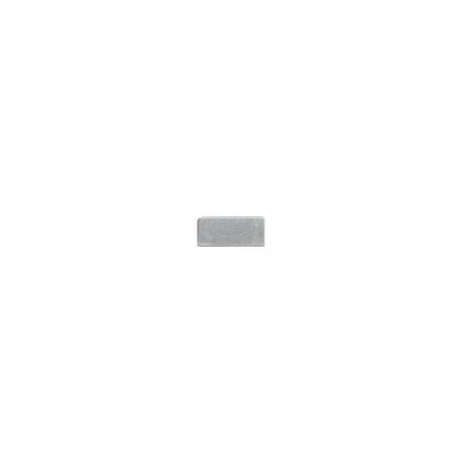 Coeck kassei grijs in-line trommeling 15x15x6cm