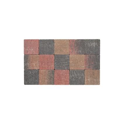 Coeck kassei herfstkleurig in-line trommeling 15x15x6cm