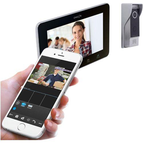 Chacon videofoon  IP met zwart scherm