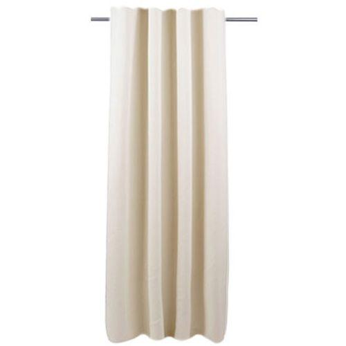 Decomode gordijn Charlotte verduisterend gebroken wit haakjes 140 x 280 cm