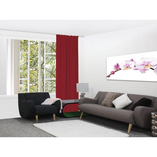 Decomode gordijn Charlotte verduisterend amarillys rood 140x280cm