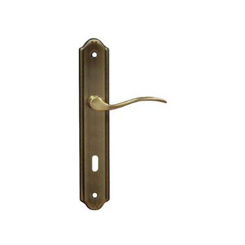Poignées de porte Bertomani avec plaques entraxe 110 mm -2 pcs