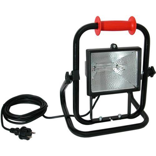 Kelfort bouwlamp 30O W met 5 m kabel verstelbare beugel klasse II IP54