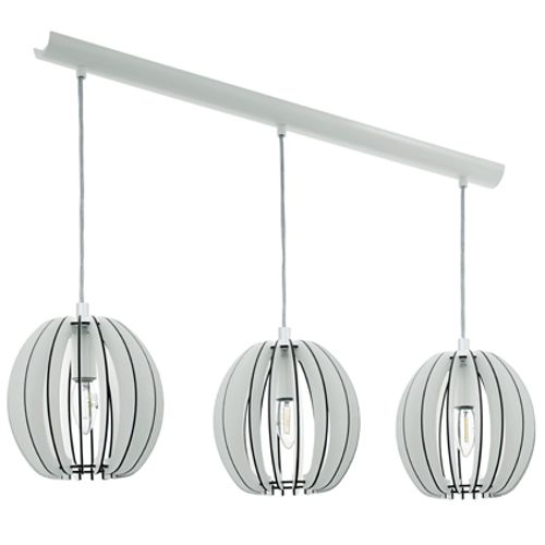 Suspension Eglo 'Cossano' 3 x 40 W