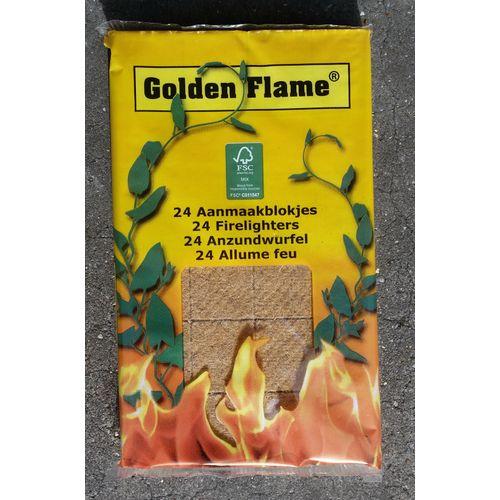 Golden Flame aanmaakblokjes 24 stuks