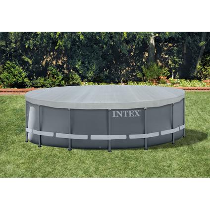 Bache de protection Intex 'deluxe ultra frame pool 488'