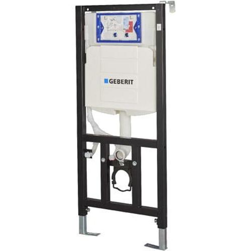 Batichasse à encastrer avec système de rinçage Geberit UP320, incluant un raccord  90-110 mm.