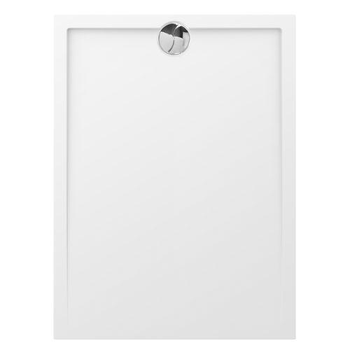 Receveur de douche rectangulaire Allibert 'Slim' 120 x 90 cm