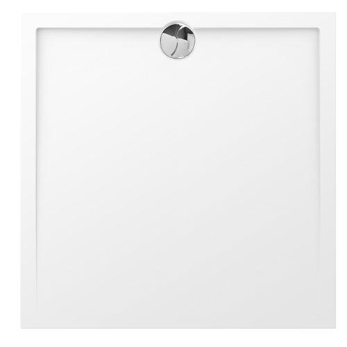 Allibert douchebak Slim polybeton vierkant 100x100cm glanzend wit
