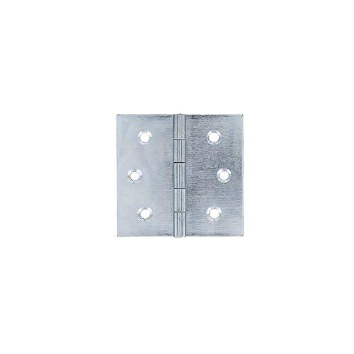 Vynex universeel scharnier verzingt staal 40 x 40 mm - 4 stuks