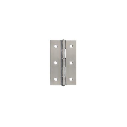 Vynex scharnier inox 50 x 50 mm - 2 stuks