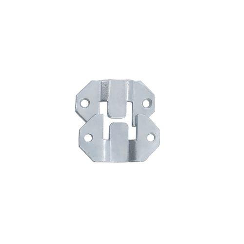 Attache Vynex acier zingué 24 x 40 mm - 8 pcs