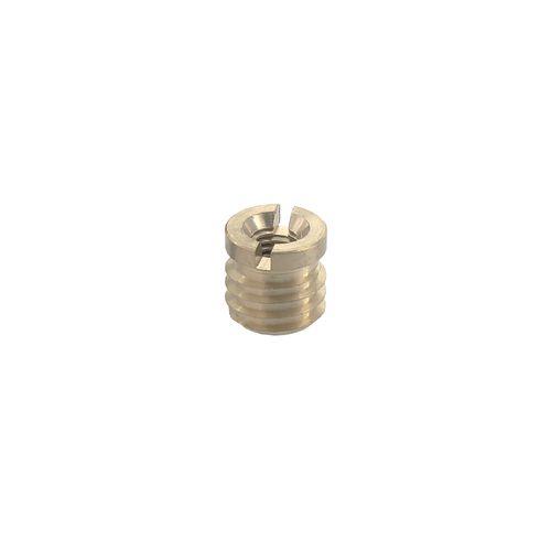 Ecrou Vynex acier laitonné diam. 12 mm M6 - 4 pcs