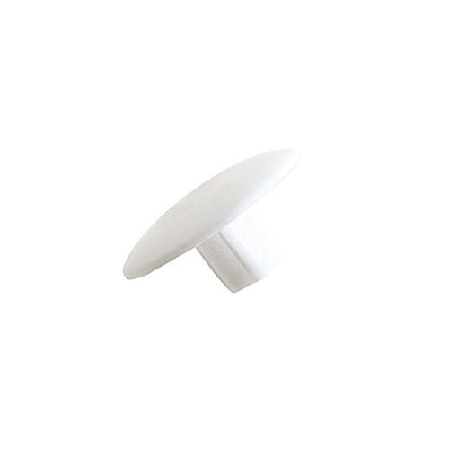 Cache obturateur Vynex plastique blanc diam. 4mm - 16 pcs