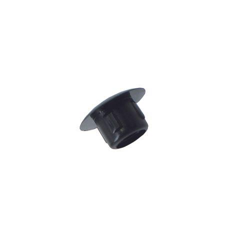 Cache obturateur Vynex plastique noir diam. 4mm - 16 pcs