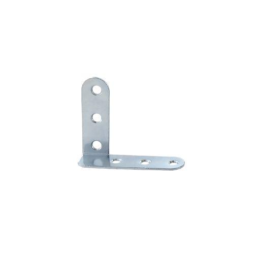 Vynex hoek verzinkt staal rechts 40 mm - 4 stuks