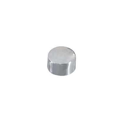 Vynex magneet verchroomd staal 9 mm - 6 stuks