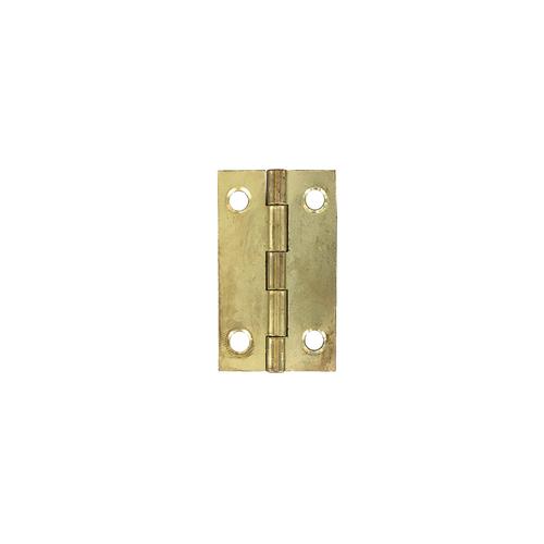 Vynex universeel scharnier vermessingd staal 90 x 50 mm - 2 stuks