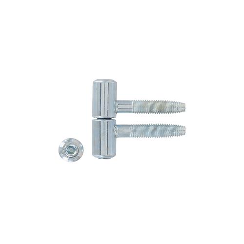 Vynex inboorpaumelle verzinkt staal diam. 13 mm - 2 stuks