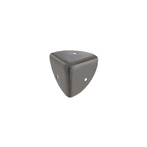 Vynex kofferhoek gebruind staal 30 mm - 4 stuks