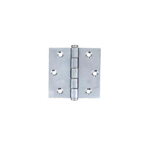 Vynex universeel scharnier verzinkt staal 40 x 40 mm - 2 stuks