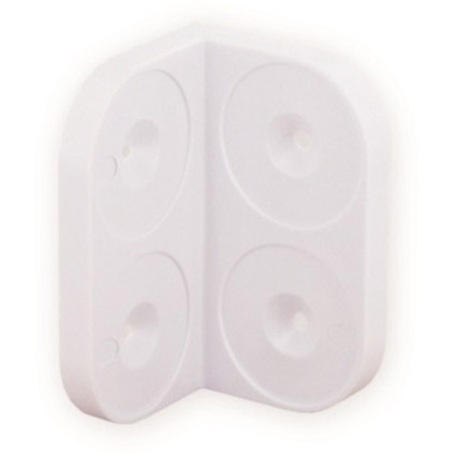 Vynex hoek plastiek 28 mm - 4 stuks