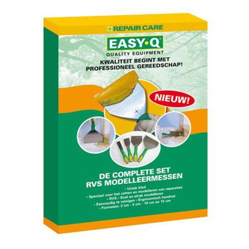 Repair Care Easy Q RVS modelleermessenset 3,5,10,15 cm 4513035