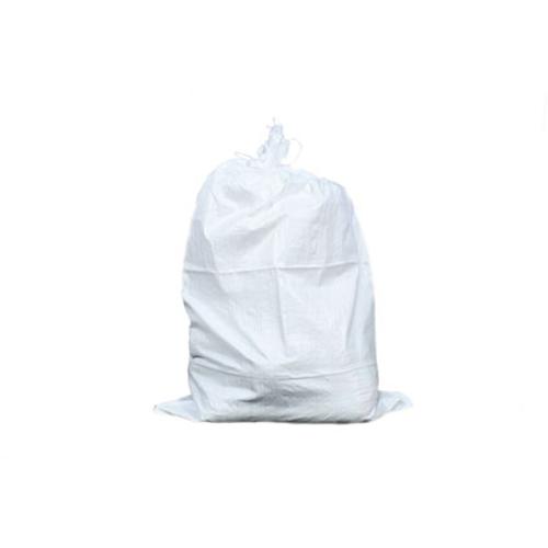 TOPPROTECT puinruimzak geweven met koord 0,65 x 1m wit 14002525