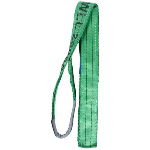 LOADLOK hijsband groen met lussen 3m 2000kg 14001989