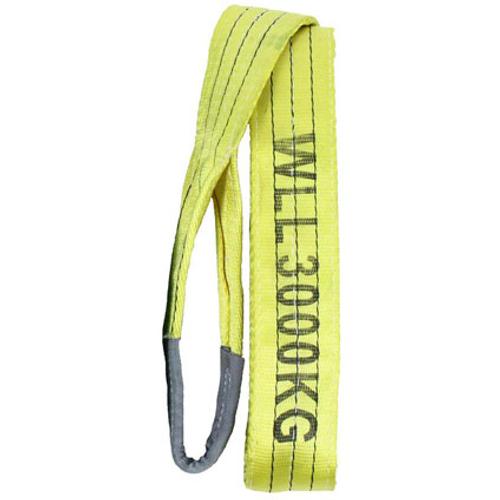 LOADLOK hijsband met lussen geel 4m 3000kg 14002027