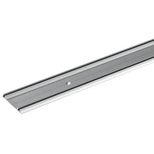 Rail de coulissage double Hettich 'SlideLine 16/16 plus' aluminium 2 m