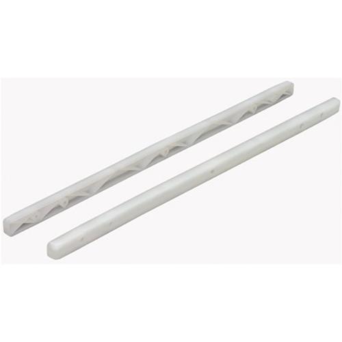 Hettich ladegeleider pvc wit 38,5 cm
