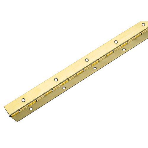 Hettich scharnier vermessingd staal 20 x 600 mm